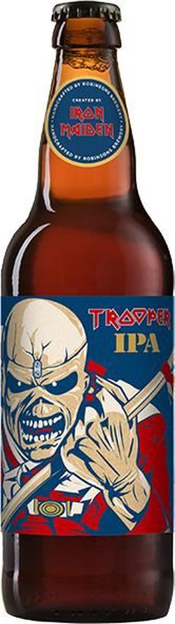 Iron Maiden's Trooper IPA 12° 0,5l 4,3%