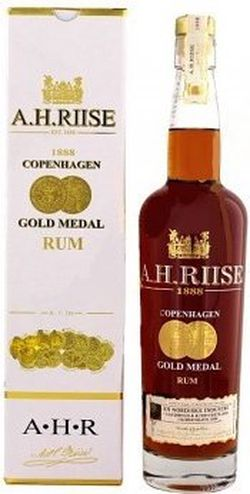 A.H.Riise Gold Medal 1888 0,7l 40%