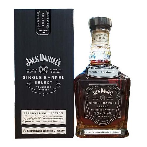 Jack Daniel's Single Barrel Select Czechoslovakia Edition No.2 Private Collection 0,7l 45%
