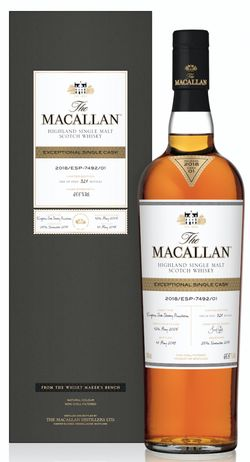 Macallan Exceptional Single Cask 2005 0,7l 65,5% / Rok lahvování 2018