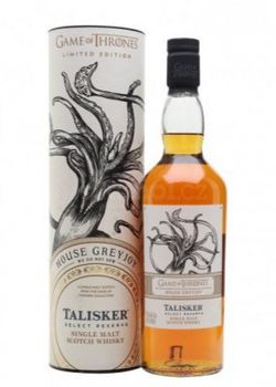 Game of Thrones House Greyjoy – Talisker Select Reserve 0,7l 45,8%