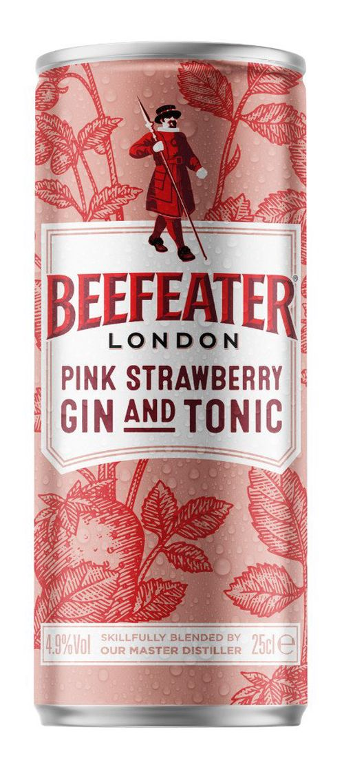 Beefeater Pink&Tonic 0,25l 4,9%