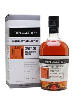 Diplomatico No. 2 Barbet Rum Distillery Collection 4y 2013 0,7l 47% L.E. / Rok lahvování 2017