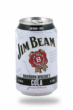 Jim Beam Bourbon & Whiskey 0,33l 4,5%