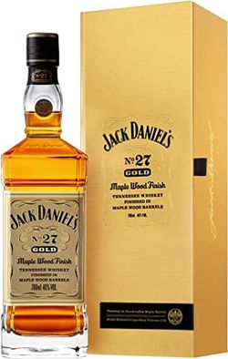 Jack Daniel's Gold No. 27 Maple Wood Finish 0,7l 40%