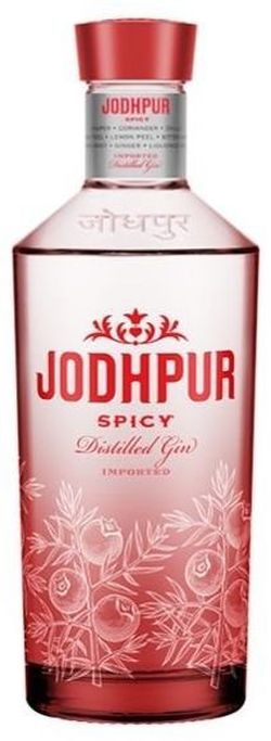 Jodhpur Spicy Distilled Gin 0,7l 43%