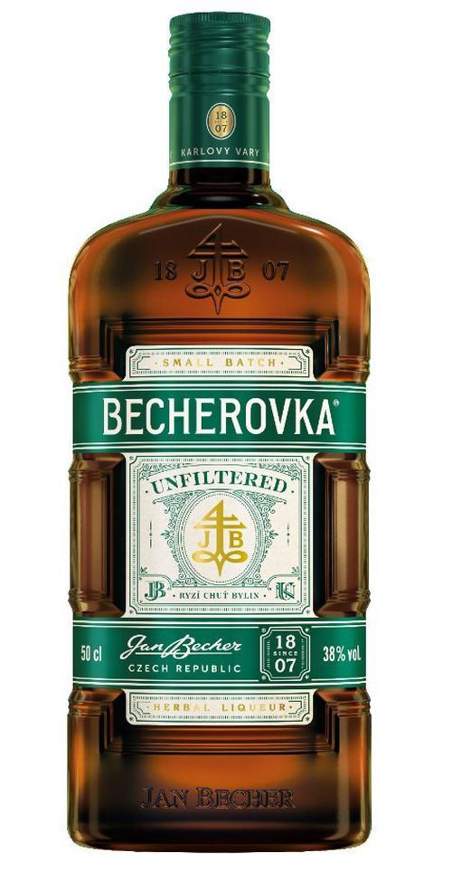 Becherovka Unfiltered 0,5l 38%