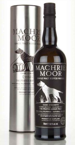 Arran Machrie Moor Cask Strength 0,7l 58,2%
