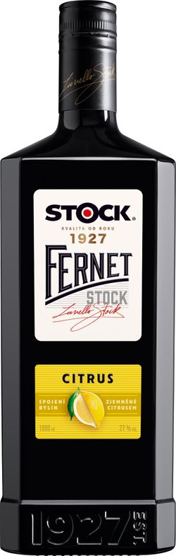 Fernet Stock Citrus 1l 27%