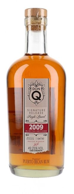 Don Q Signature Release Single Barrel 10y 2009 0,7l 49,25% L.E. / Rok lahvování 2019