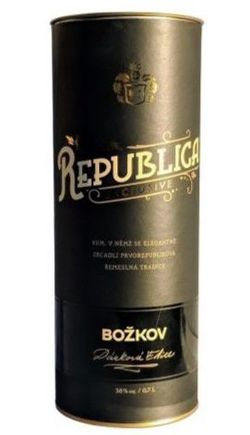 Božkov Republica Exclusive 8y 0,7l 38% Tuba