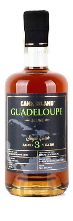 Cane Island Guadeloupe Rum 3y 0,7l 43%