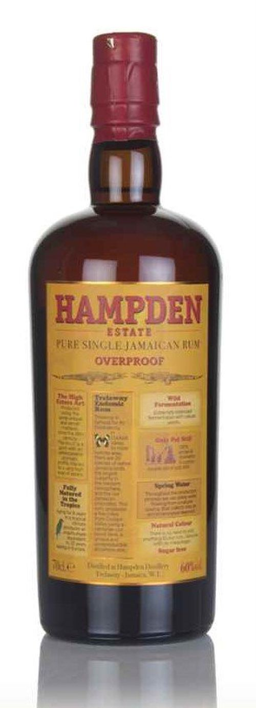 Hampden Estate Overproof Rum 0,7l 60%