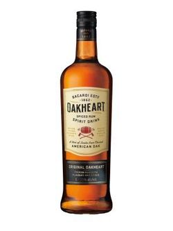 Bacardi OAK HEART 1l 35%