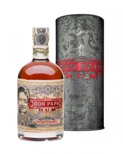 Don Papa Embossed Art 2019 7y 0,7l 40% Tuba