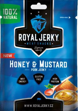 Royal Jerky Pork Honey & Mustard