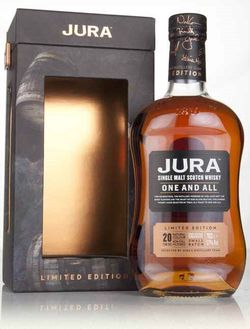 Isle of Jura One and All 20y 0,7l 51% L.E. / Rok lahvování 2017