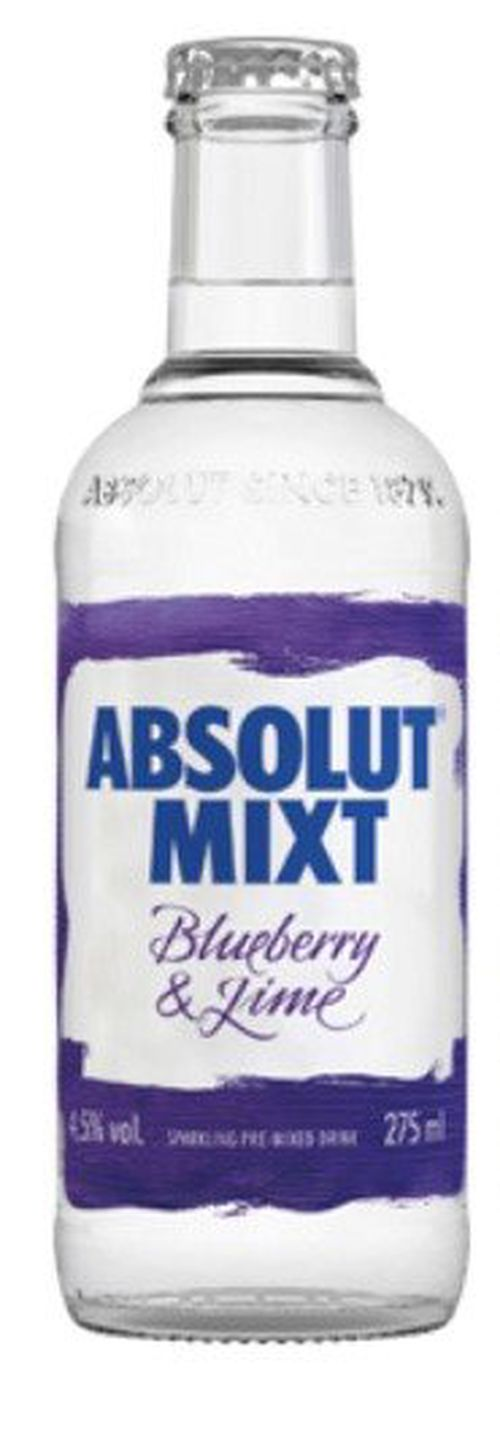 Absolut Mixt Blueberry & Lime 0,275l 4,5%