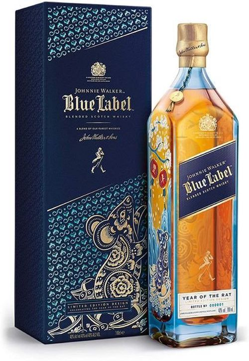 Johnnie Walker Blue Year of the Rat 0,7l 40% L.E.